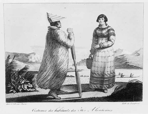 Aleut tribe home for Alaskan cuisine history